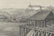 Місто Бережани на картині 1830 року