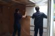 У тернопільському парку «Топільче» демонтую незаконно встановлений кіоск