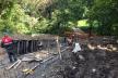 Тернопіль: у гідропарку «Топільче» розпочали капітальний ремонт сходів