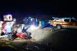 Жахлива аварія на Бережанщині: автомобіль зніс освітлювальну опору, загинув чоловік