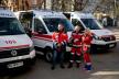 Тернопільщина отримала 10 спеціалізованих автомобілів швидкої допомоги