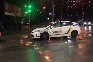 Патрульні потрапили в аварію, коли наздоганяли п'яного екс-працівника ДАІ (Відео)