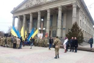На Театральному Майдані Тернополя відзначили День добровольця (Фото)