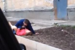 Новина про пару, яка займалась сексом просто на вулиці у Тернополі, виявилась фейком