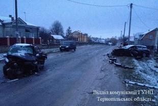 ДТП у Скалаті: постраждали водії і пасажирка