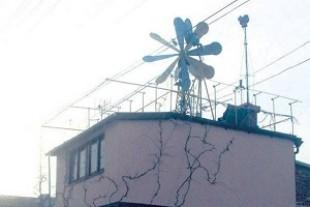 Тернополянин власноруч створив вітрогенератор і економить газ