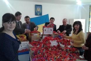 9 000 квітів пам'яті до Дня пам'яті і примирення відправляють у місто Слов'янськ
