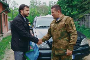 Напередодні Дня Героїв Ігор Гуда передав автомобіль для АТО (Відео)