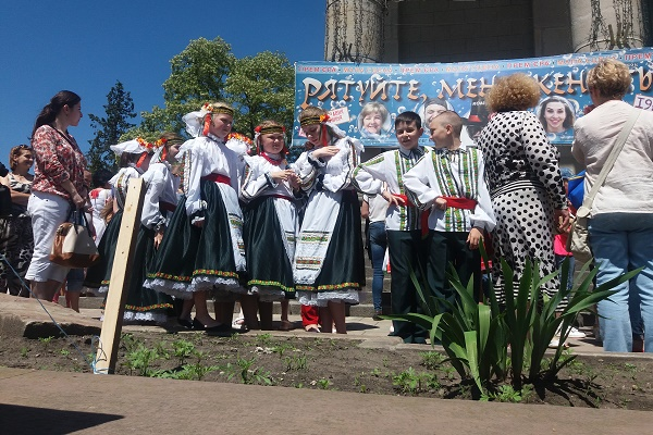 Маленькі тернополяни на Театральному Майдані влаштували справжнє свято (Фото)