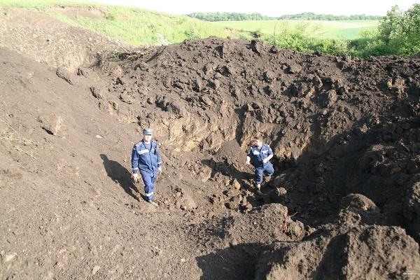 Знайдену у Тернополі авіаційну бомбу знешкодили (Фото)