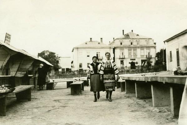 Мешканці Заліщиків на фотографіях 1934 року