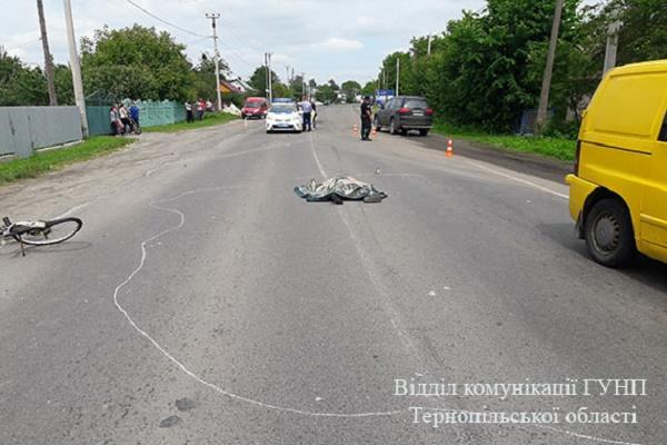 «Мерседес» на смерть збив велосипедиста біля його ж будинку