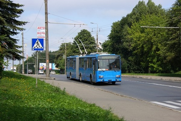 Через ДТП тернопільський тролейбус тимчасово змінить маршрут