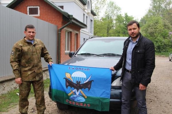 Позашляховик, який Ігор Гуда передав бійцям в АТО, випробували в навчально-бойових умовах