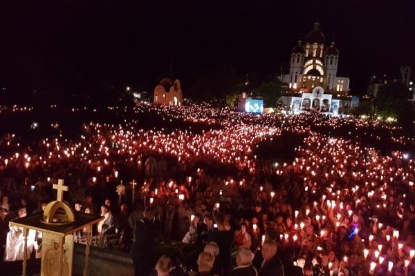 Зарваниця цими вихідними очікує близько ста тисяч паломників з усього світу