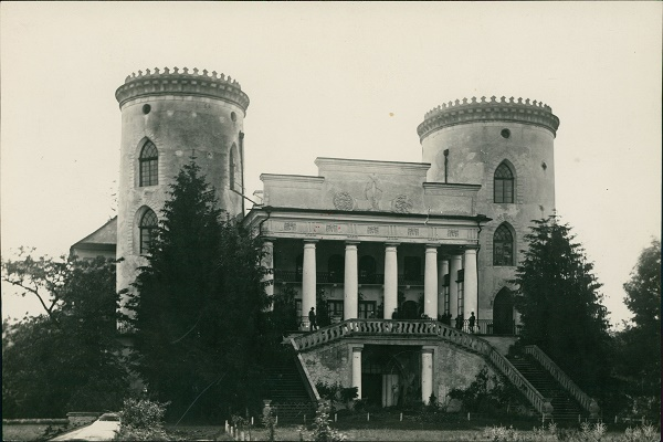 Червоногородський замок на старих фотографіях