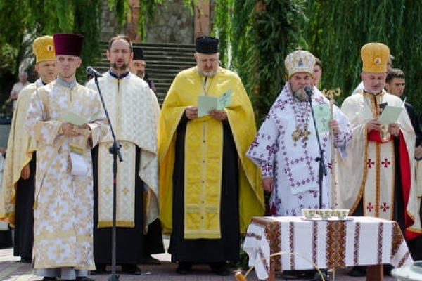 Тернопільщина відзначила День Хрещення Русі-України (Відео)