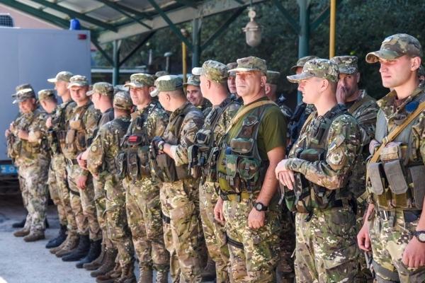 У зону АТО вирушили 30 бійців батальйону патрульної поліції «Тернопіль» (Фото)