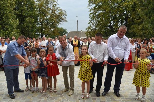 У Трибухівцях урочисто відкрили будинок культури (Фото)