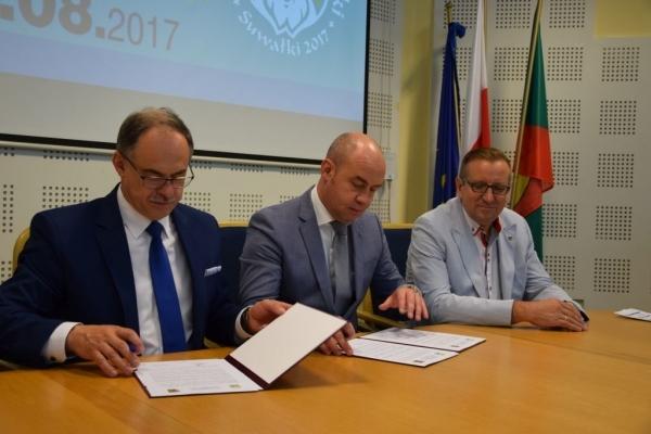 Підписана угода про партнерство Тернополя та польського міста Сувалки