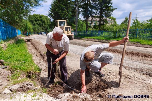 Чергове досягнення Великогаївської громади – нова дорога (Фото)
