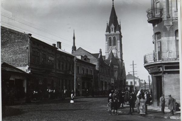 Чортків на фото в роки Першої світової війни