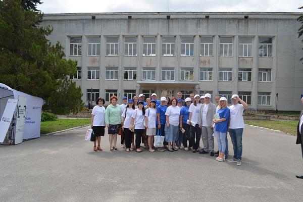 Мобільний інформаційний пункт управління юстиції завітав у місто Збараж