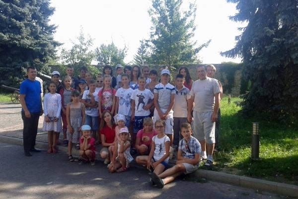 За підтримки УГП на Козівщині для дітей бійців АТО влаштували виїзний табір