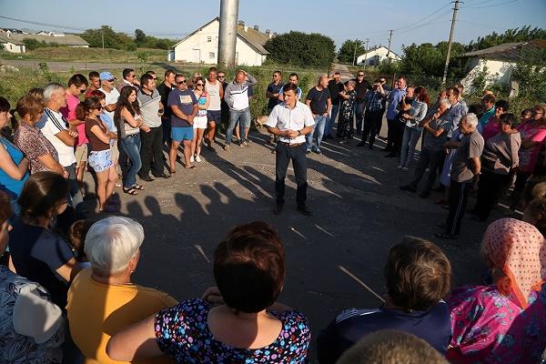 Михайло Головко підтримав збаражчан у боротьбі проти шкідливого свинокоплексу