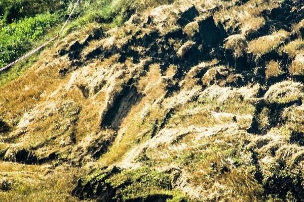Через зсув терикона нависла загроза над Полупанівкою