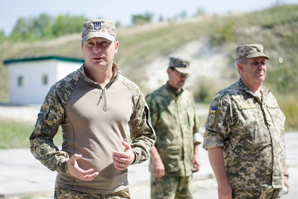 На Тернопільщині провели військовий вишкіл для оргядра та керівного складу усіх загонів тероборони (Фото, Відео)