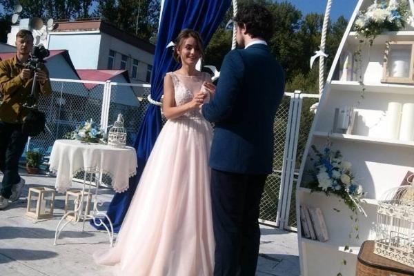 В останній день літа заміж вийшла відома тернопільська журналістка (Фото)