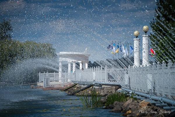 Аераційний фонтан в Тернополі буде протяжністю понад 240 метрів