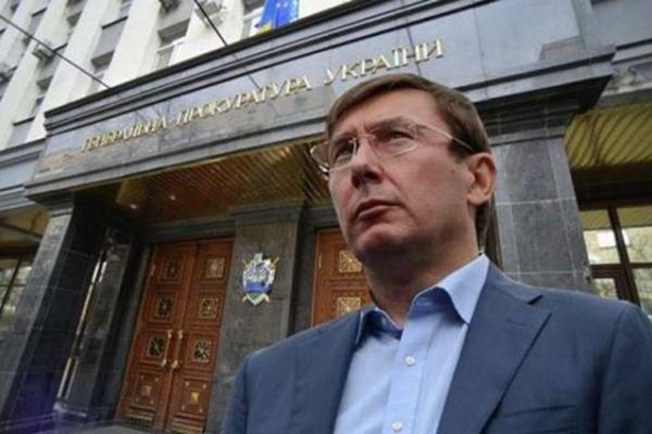 Генпрокурор Юрій Луценко подав у відставку через справу Гандзюк