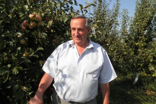 Аграрна Тернопільщина:Із осіннього саду Петра Пеляка