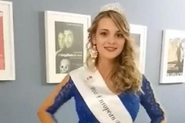 Дівчина Тернопільщини отримала титул найкрасивішої дівчини в Португалії