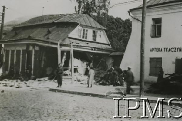 Фото Кременця після бомбардування: 12 вересня 1939 року