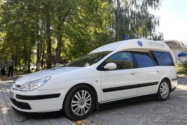 Шумська лікарня отримала оМРІЯний автомобіль швидкої медичний допомоги (Відео)