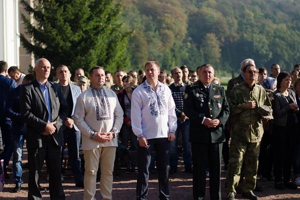 Степан Барна: Для Тернопільщини велика честь приймати військових паломників з усієї України (Фото)