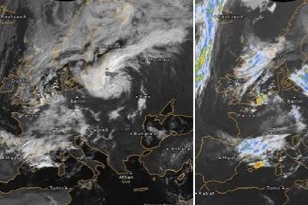 Тернополяни можуть не хвилюватися – смертельний циклон нас обминув