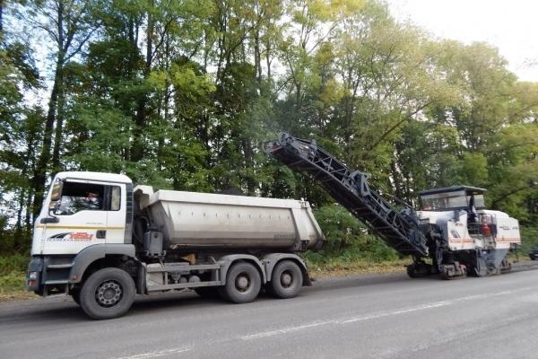 Сьогодні тривали ремонтні роботи у напрямку Львова