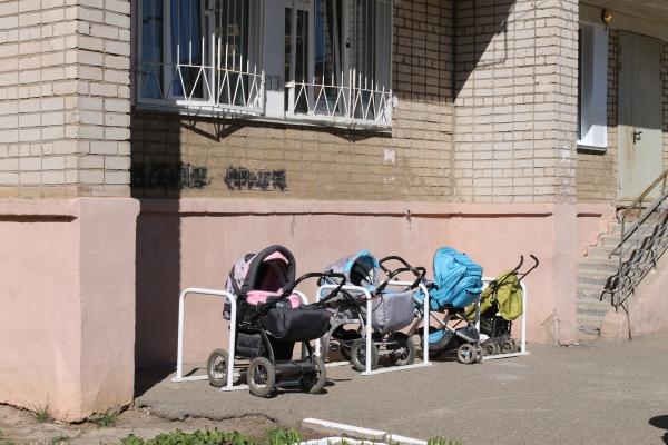 Парковки для візочківвстановили в парку Шевченка