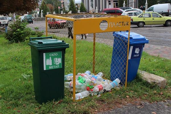 У Козові сортуватимуть сміття