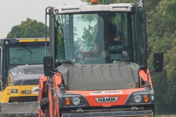 26вересня шляховики продовжують ремонтні роботи на6автошляхах Тернопільщини