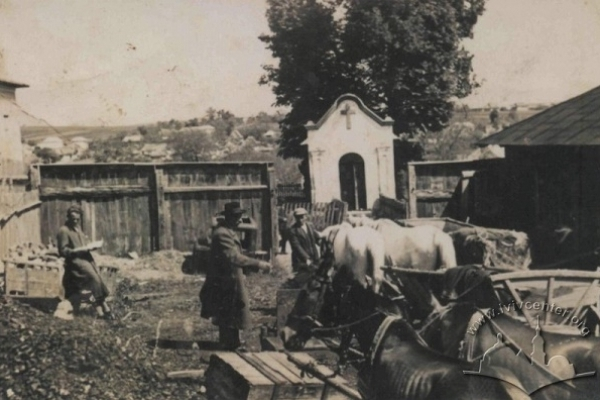Мешканці Підгаєць на архівних фото