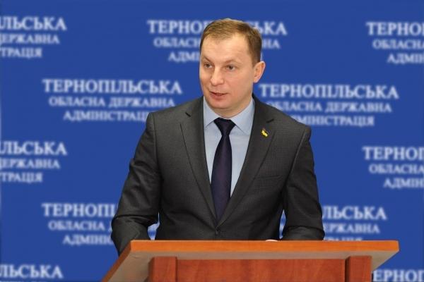 Що каже губернатор Тернопільщини про дороги в області