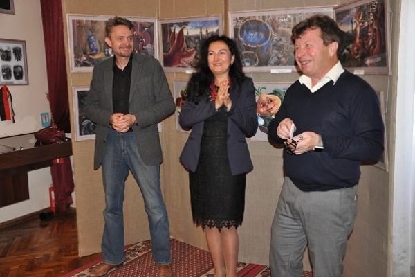 Олег Кіналь – художник, який слухає очима, а говорить руками