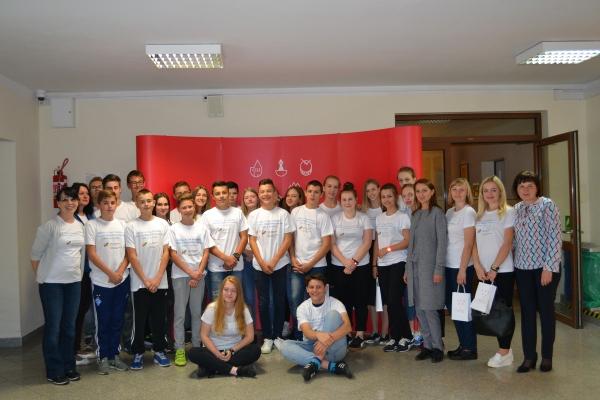 Тернопільські школярі з школи №8 перебувають у польському місті Ниса