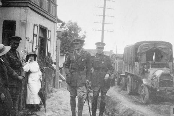 Відомі особистості, які прославились в Першій світовій війні, перебували в Підгайцях в 1917 році (Фото)