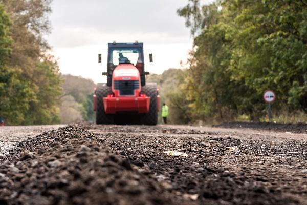 Дорожні роботи на Тернопільщині тривать